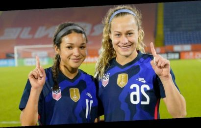 Former kindergarten teammates Sophia Smith and Jaelin Howell debuted for the US Women's National Team on the same day
