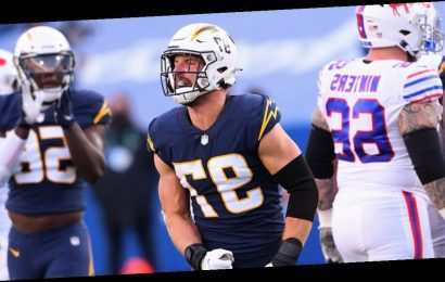 Close-up video of Chargers star Joey Bosa shows how terrifying NFL trenches can be