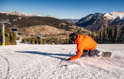 Wolf Creek is the first Colorado ski resort to reach 100 inches of snow