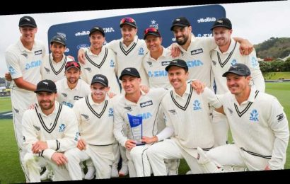 New Zealand joint top of Test rankings after beating West Indies to seal series sweep