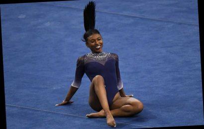 Nia Dennis, UCLA gymnast, goes viral after stunning performance