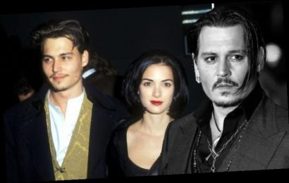 Johnny Depp 'sobbed on film set' after brutal split from Winona Ryder