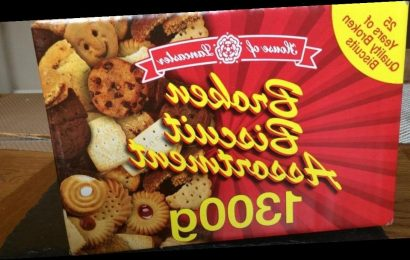 Iceland and The Range cause frenzy with 1.3kg bargain boxes of broken biscuits