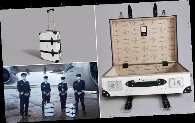 British Airways sell range of luggage made out of retired Boeing 747s