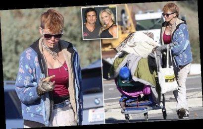 Baywatch star's Jeremy Jackson's homeless ex-wife digs through trash