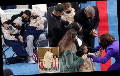 VP Kamala Harris' great-nieces snap inauguration selfie with dad