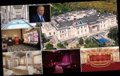 Tsar Putin's £1billion palace of pleasure: It's a monstrous monument
