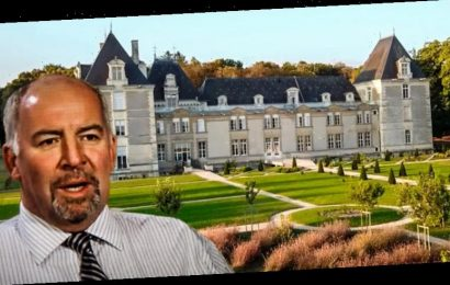 Australian former executive returns from French 'castle' to quarantine and a criminal investigation