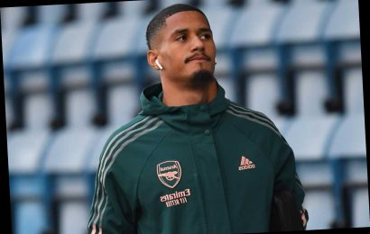 Arsenal confirm William Saliba has joined Nice on loan transfer until end of season but remains in Gunners' future plans