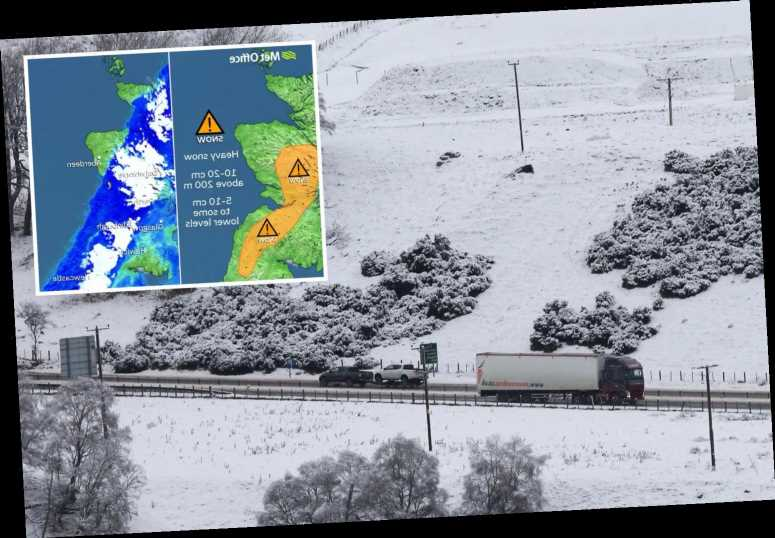 UK weather – EIGHT inches of snow could 'cut off towns as Britain to be battered in 40-hour ice blast
