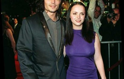 Christina Ricci Said Kissing Johnny Depp Was 'Weird'
