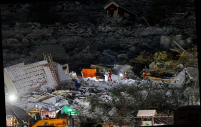 Seventh body found after Norway landslide as rescuers keep digging hoping to find missing villagers alive