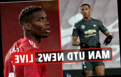 2.30pm Man Utd transfer news LIVE: Pogba accuses team-mates of 'cheating', Martial and Tuanzebe racially abused
