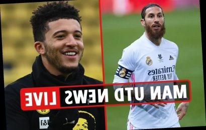 3pm Man Utd transfer news LIVE: Jadon Sancho could join this month, Sergio Ramos 'contacted', Pogba exit LATEST