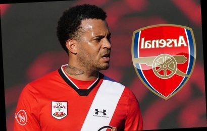 Arsenal transfer blow as Southampton are confident Ryan Bertrand will sign new contract amid shock Gunners interest