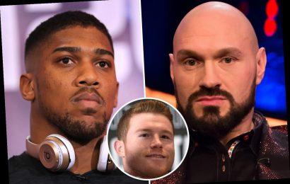 Canelo Alvarez tips Anthony Joshua to beat Tyson Fury as Johnny Nelson predicts AJ stoppage with other pundits split