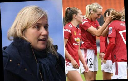 Chelsea boss Emma Hayes admits Man Utd are obvious WSL title contenders this season ahead of crunch clash