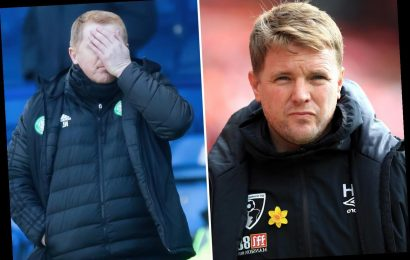 Celtic next manager odds: Eddie Howe moves into pole position to replace Neil Lennon after a 'flurry of bets'