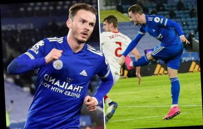 Leicester 2 Southampton 0: James Maddison and Harvey Barnes goals settle it as Foxes move into second