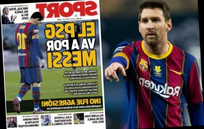 Lionel Messi leaves Barcelona fearing transfer exit with five-months left on deal and 'vultures' PSG lurking