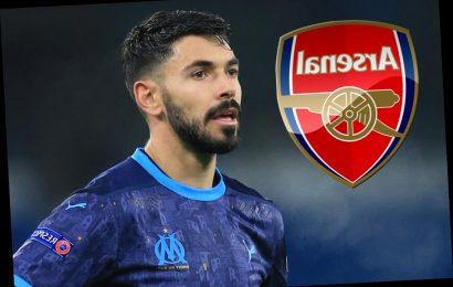 Arsenal join West Ham in Morgan Sanson transfer race as Marseille boss Villas-Boas confirms interest in £25m midfielder