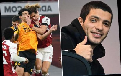 Raul Jimenez begins 'early fitness work' just weeks after Wolves striker had emergency surgery of fractured skull