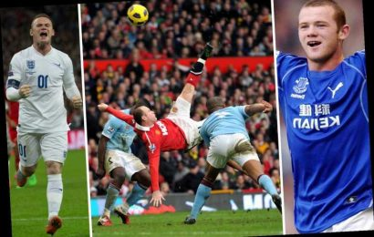 Wayne Rooney retires as Man Utd and England's top goalscorer after calling time on his illustrious 18-year career