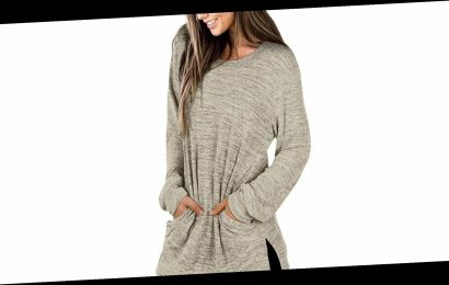 This Comfy and Casual Tunic Top Is Impressively Size-Inclusive