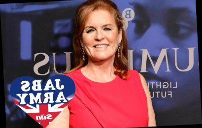 Sarah Ferguson hails The Sun's 'fantastic' Jabs Army and urges readers to help get Britain vaccinated