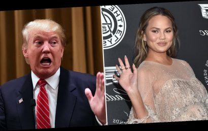 "Chrissy Teigen's Goodbye to Trump Is a Whole Mood: ""Our Great National F*ckup Is Over"""