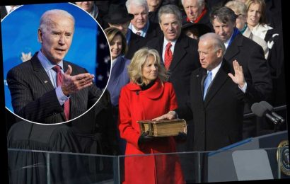 Biden says he'll take oath outdoors as National Guard floods DC for inauguration