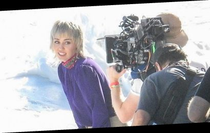 Miley Cyrus Films New Music Video at the Beach in Malibu!