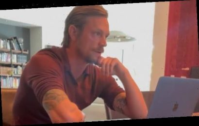 Joel Kinnaman's Fiancee Reveals He Does Zoom Interviews in His Underwear!