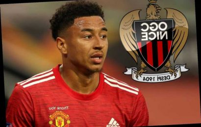 Man Utd outcast Jesse Lingard 'holds talks with Nice over loan transfer' with England ace out of Solskjaer's plans