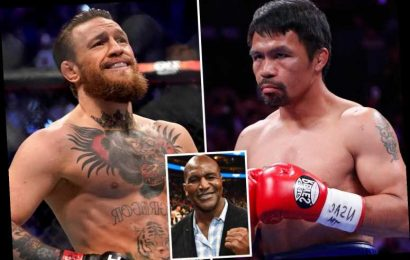 UFC superstar Conor McGregor can BEAT Manny Pacquiao in boxing match, says legend Evander Holyfield