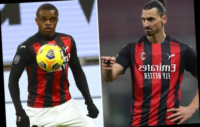 Zlatan Ibrahimovic reveals he scolded AC Milan youngster Pierre Kalulu for wearing gloves on debut and not looking scary