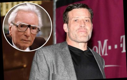 Tony Robbins adapting Holocaust survivor's book into a movie
