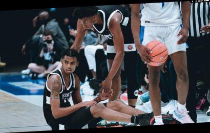 Led by star player Emoni Bates, Michigan's new basketball academy will play Bronny James' team