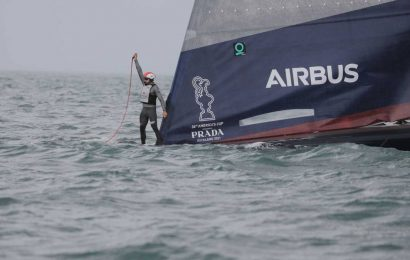 America's Cup 2021: World reacts to American Magic's capsize