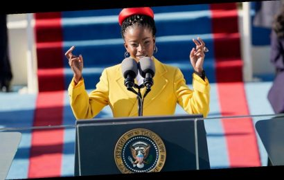 Amanda Gorman's Inauguration Day Outfit Featured Jewelry From Oprah