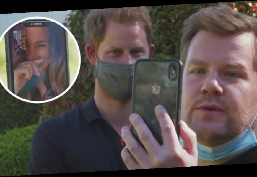 Meghan Markle Reveals Prince Harry Nickname During James Corden FaceTime