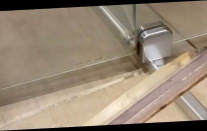 Professional cleaner shows secret part of shower and how you can clean it