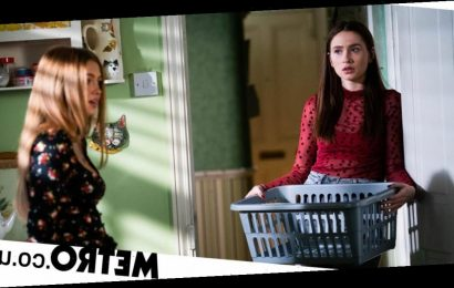 Tiffany saves Dotty from a dangerous attack from perverts in EastEnders