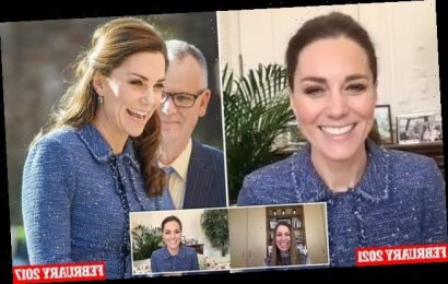 Kate Middleton recycles £398 Rebecca Taylor tweed jacket for call
