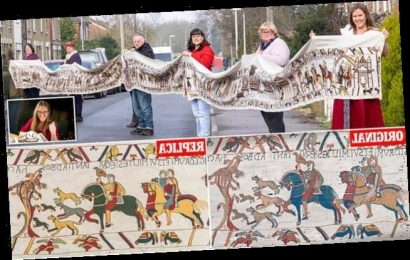 Teacher embarks on epic saga to recreate the Bayeux Tapestry