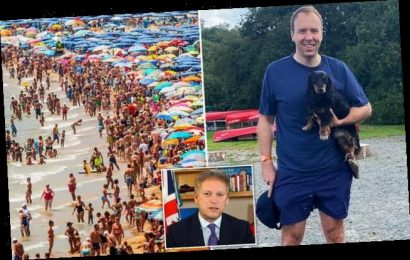 Matt Hancock admits he's booked a summer break in Cornwall