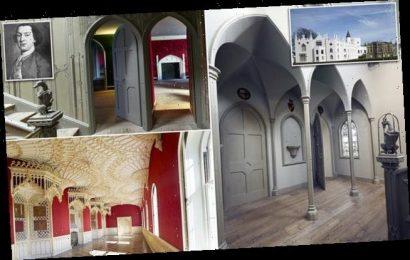 Sir Horace Walpole turned Strawberry Hill House into bachelor pad