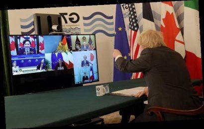 'You need to mute, Angela': Merkel suffers Zoom fail at G7 start