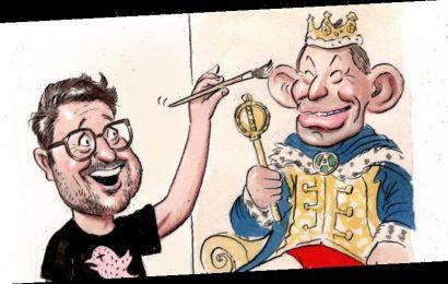 Abbott leaks provocateur for his official portrait