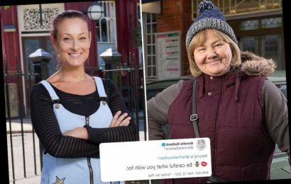 EastEnders' Annette Badland hints at shock return and fuels rumours Tina Carter is alive and seeking Aunt Babe's help